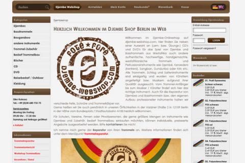 Djembe Webshop