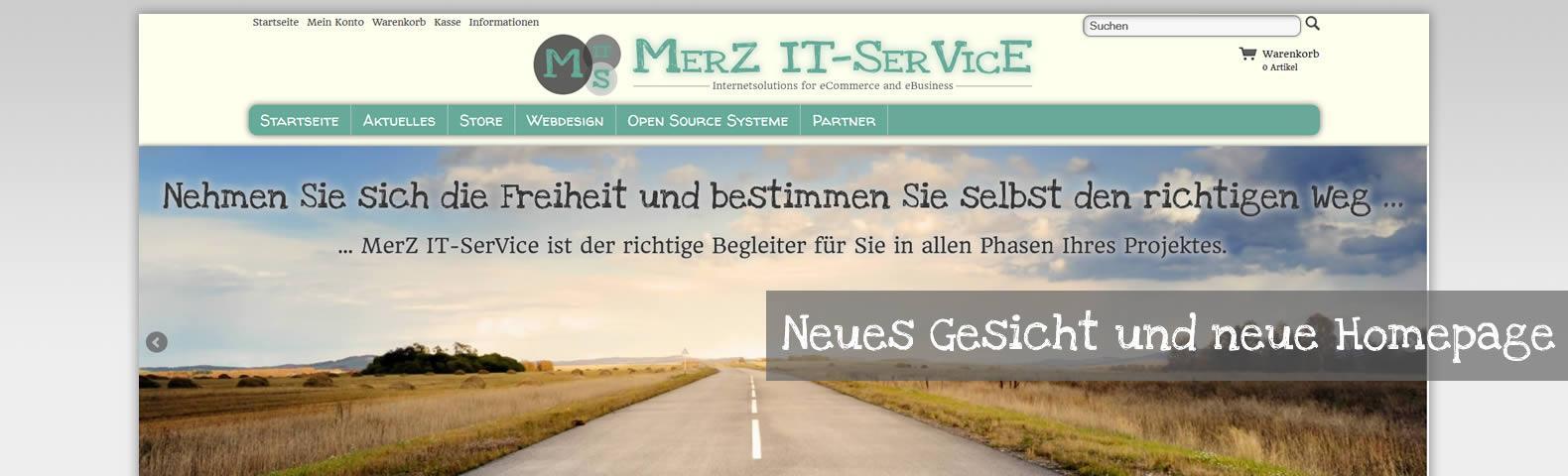MerZ IT-SerVice mit neuem Gesicht und Internetauftritt