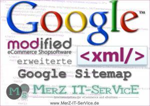 Installation erweiterte Google-Sitemap