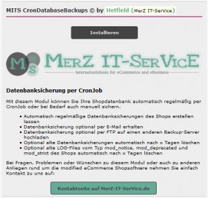 MITS Cron Database Backups